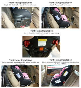 How To Install A Forward-Facing Safety Car Seat