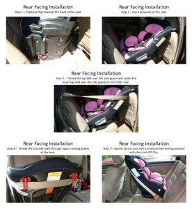 How To Install A Rear-Facing Infant Car Seat