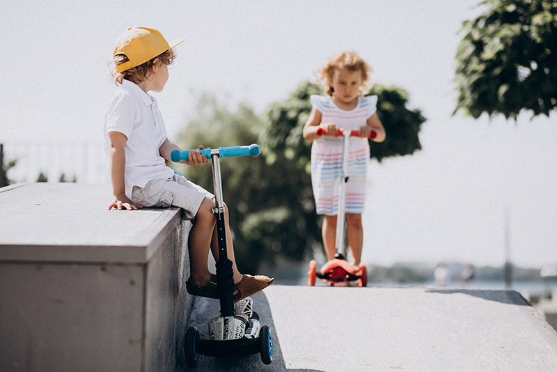 What Benefits Can Kids Get From Using Scooters